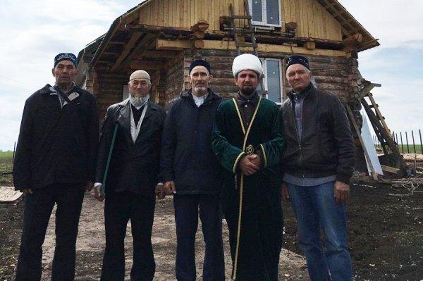 В Васькино-Туйралы прежде никогда не было мечети