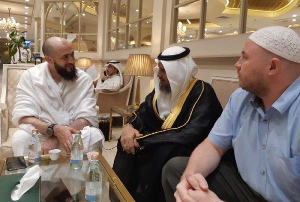 Муфтий - в Саудовской Аравии по приглашению Всемирной исламской лиги