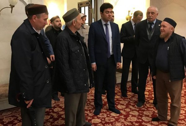 Ахмад хаджи Абдулаев в Татарстане.