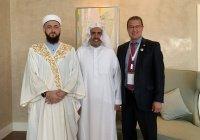 Муфтий РТ встретился с главой Всемирной исламской лиги
