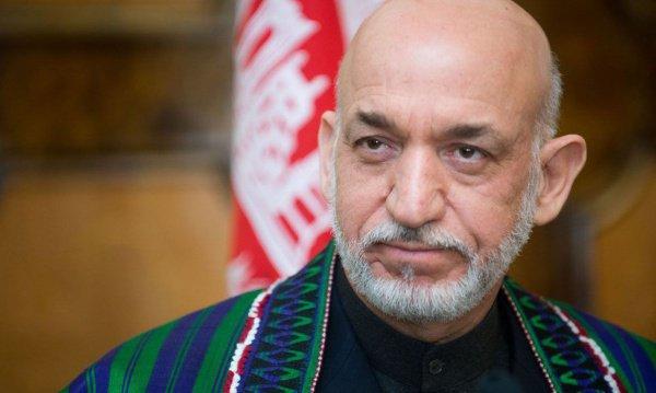 Хамид Карзай прибудет в Москву на переговоры с талибами.