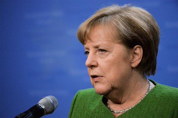 Ангела Меркель прокомментировала выборы в Европарламент.