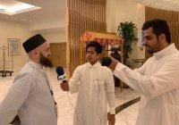 Муфтий Татарстана дал интервью саудовскому агентству новостей