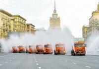 В Москве стали охлаждать уличный воздух