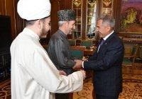 Рустам Минниханов встретился с муфтием Дагестана