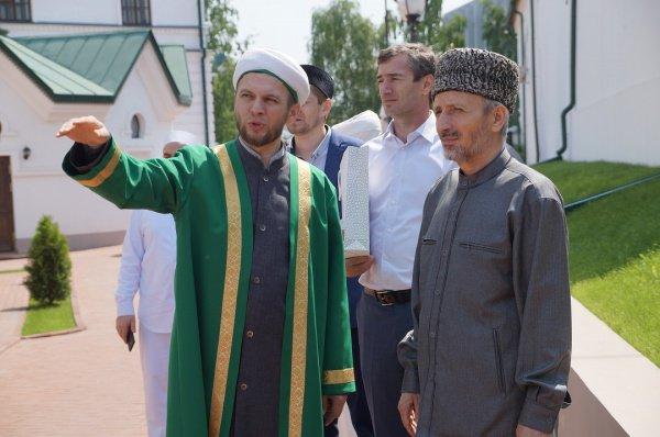 Муфтий Дагестана в ДУМ РТ.