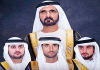 Стала известна дата свадебных торжеств трех сыновей правителя Дубая