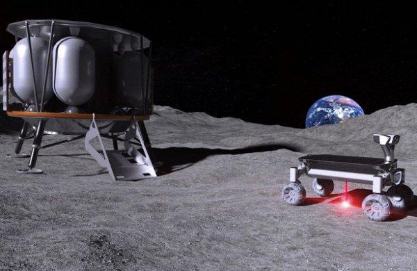 Лазерную систему Moonrise установят на лунный ровер, который, предположительно, будет запущен в 2021 году