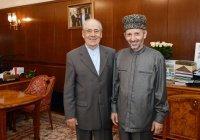 Шаймиев обсудил сотрудничество в религиозном образовании с муфтием Дагестана
