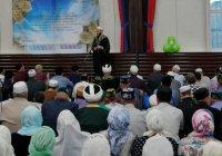 Предпоследний ифтар с участием муфтия Татарстана прошел в Сабинском районе
