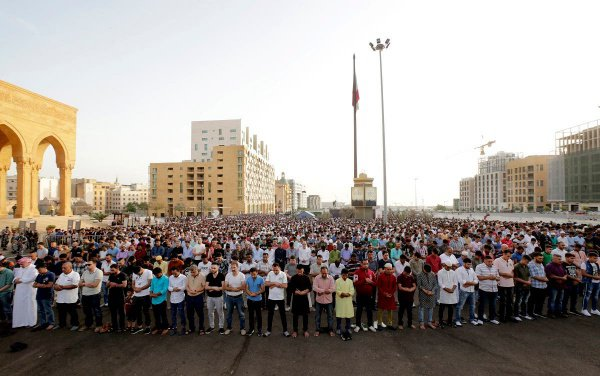Праздничный намаз, Бейрут