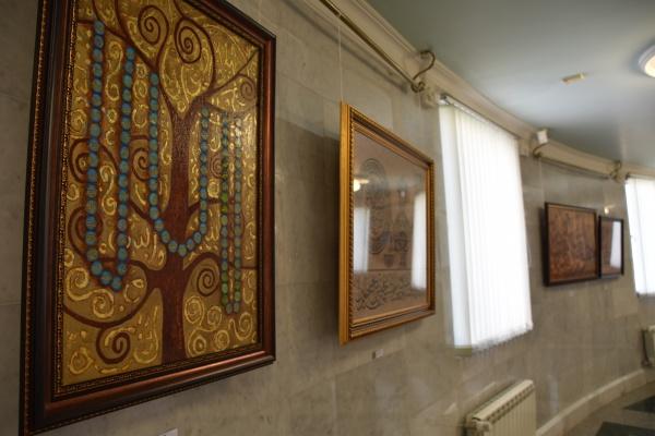 Открытие новой выставки в Галерее татарского шамаиля