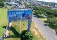 Авиакомпания из ОАЭ превратила свою рекламу в гуманитарную помощь