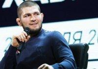 Хабиб Нурмагомедов готовится к бою в ОАЭ