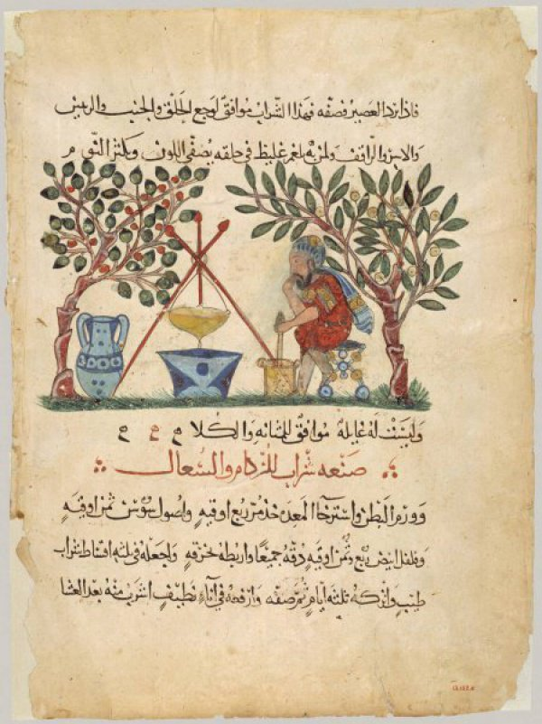 Арабский перевод De Materia Medica. Источник: Wikimedia, public domain