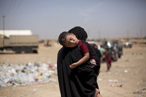 Дети боевиков ИГИЛ отправились на родину.