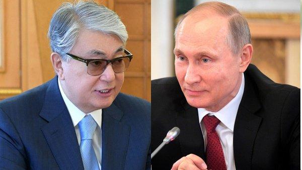 Путин и Токаев провели телефонную беседу.