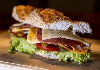 Самый большой бутерброд приготовили в России (ВИДЕО)