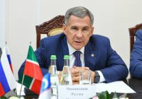 Минниханов заявил о намерении утроить объемы товарооборота с Узбекистаном