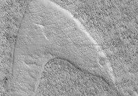 На Марсе замечена необычная эмблема