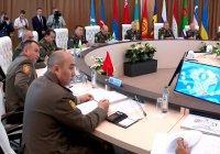 Страны СНГ обсудили военное сотрудничество