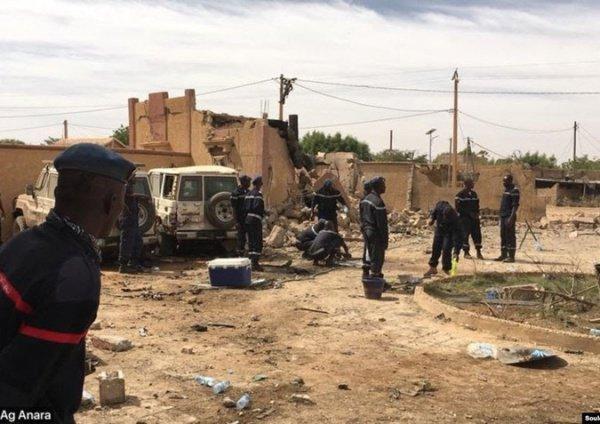 В Нигерии произошла серия атак на деревни.