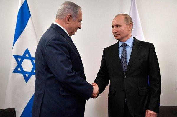 Путин и Нетаньяху на встрече в феврале 2019 года.