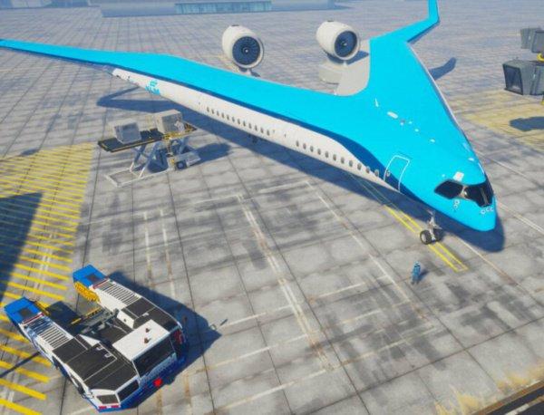 Самолет получил название Gibson Flying-V в честь легендарной электрогитары