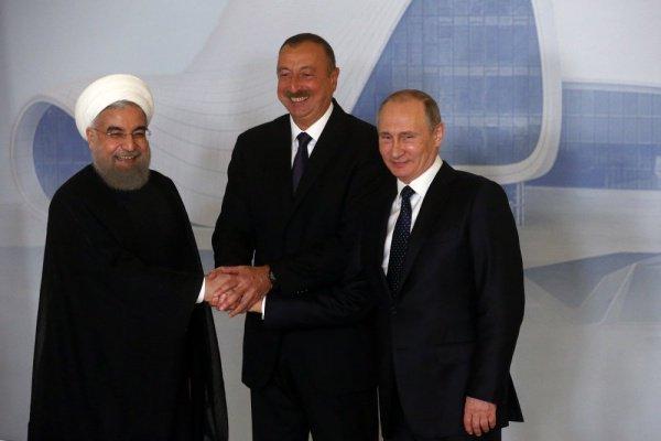 Путин, Роухани и Алиев встретятся в августе.