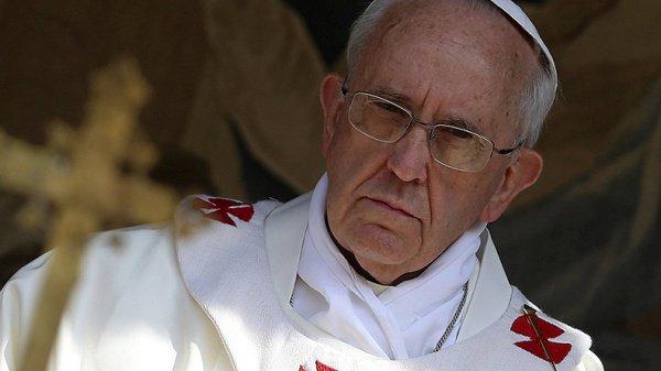 Глава Римско-католической церкви призвал к миру на Ближнем Востоке.