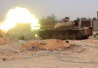 В Ливии в бою сошлись два советских танка (Видео)