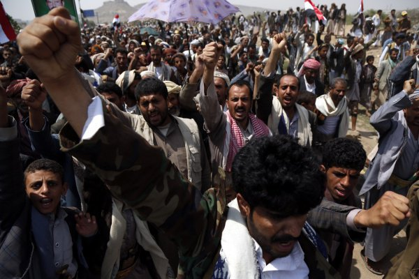 Война в Йемене (Фото: Mohammed Mohammed/ТАСС)