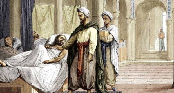 Картина 1883 года, больница в Кордове