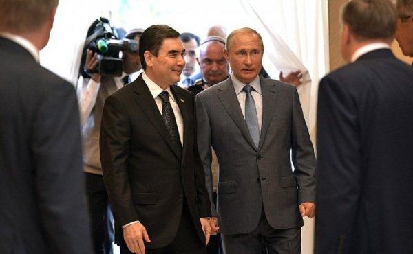 Путин и Бердымухамедов обсудили сотрудничество.