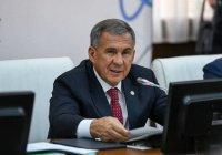 Рустам Минниханов презентует новую стратегию ГСВ «Россия – Исламский мир»