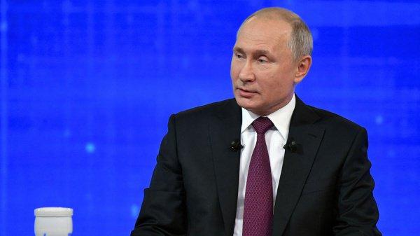 Президент России продолжает отвечать на вопросы россиян.