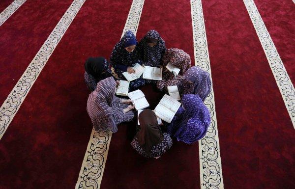 Интеграция знания и религии (Фото: Ashraf Amra/ТАСС)