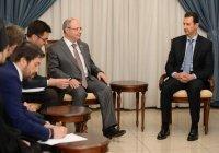 Российская межведомственная делегации встретилась с президентом Сирии