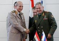 Шойгу: Египет – пример стабильности среди арабских стран