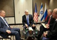 Патрушев заявил об общей позиции России, США и Израиля по Сирии