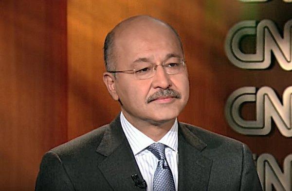 Бархам Салех дал интервью CNN.