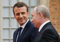 Путин и Макрон обсудят Сирию, Иран и Украину