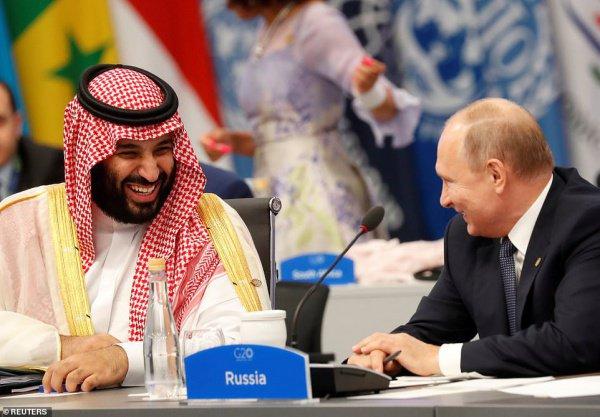Лидеры России и Саудовской Аравии встретятся в Осаке.