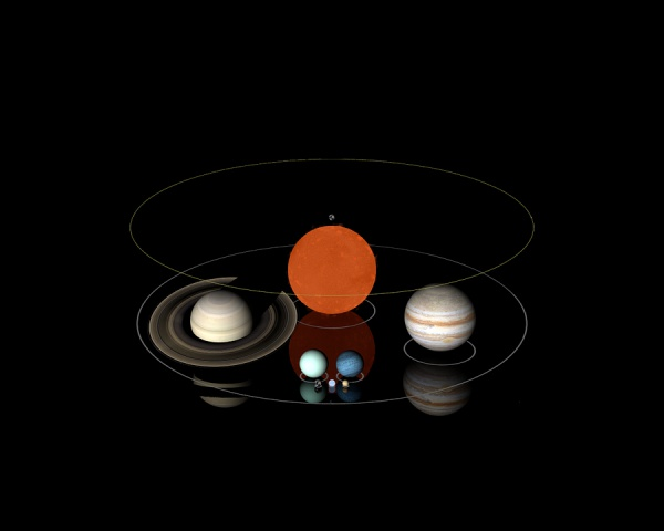 Титан не похож ни на одно другое место в Солнечной системе