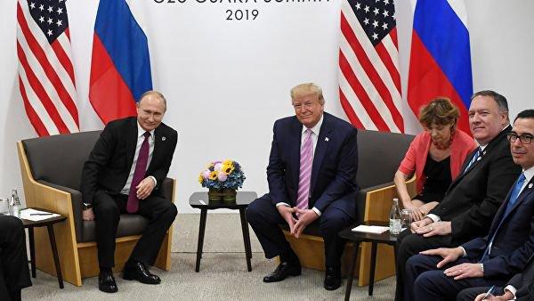 Путин и Трамп проговорили полтора часа.
