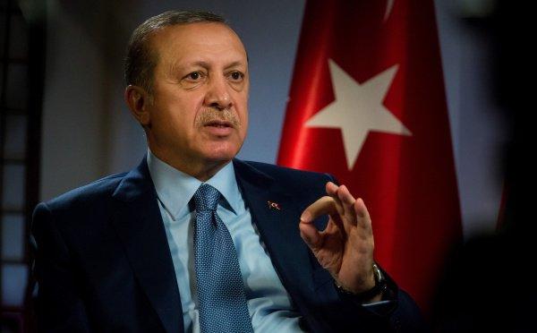 Президент Турции отказался поддерживать американский план по Ближнему Востоку.