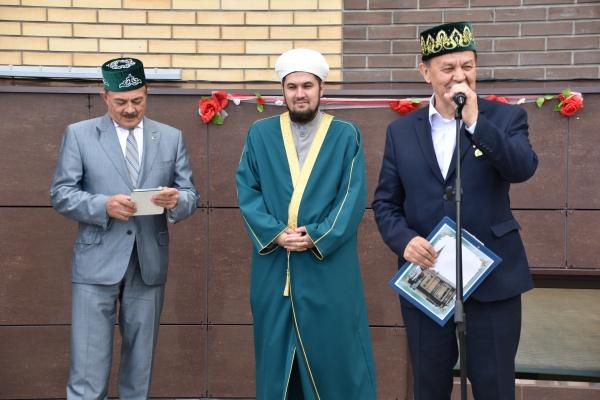 Как прошло открытие мечети