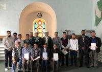 Имамам Бугульминского района вручили шахадатнама