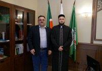 Муфтий Татарстана побеседовал с гостем из Дубая
