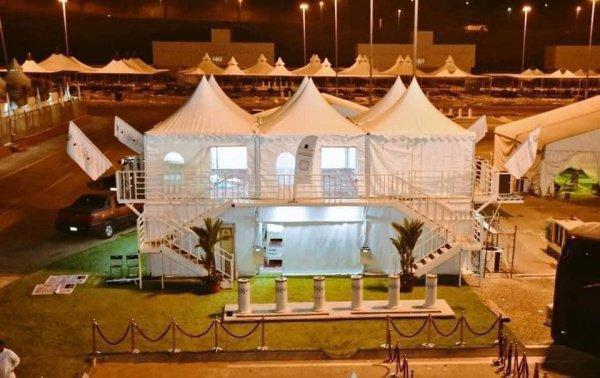 Впервые в истории Хаджа. В долине Мина установят многоэтажные палатки